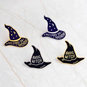 Wizard in training pin