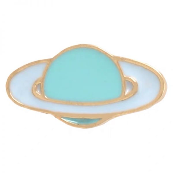 Little blue planet pin