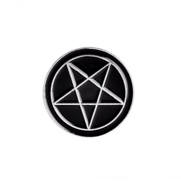 Witchcraft star pin
