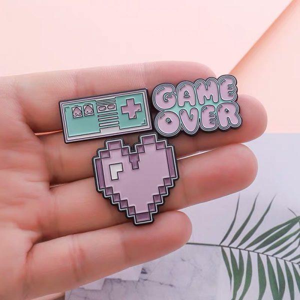 Arcade pink heart