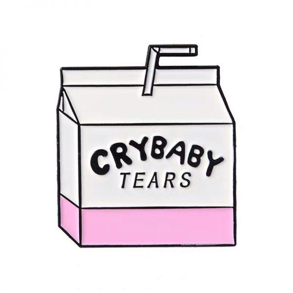 Cry baby tears milkbox pin